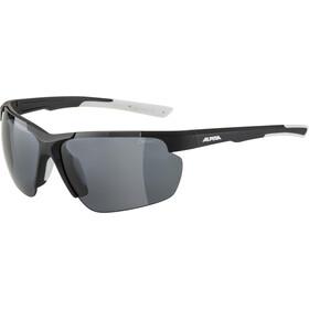 Alpina Defey HR Glasses black matt/white/black mirror